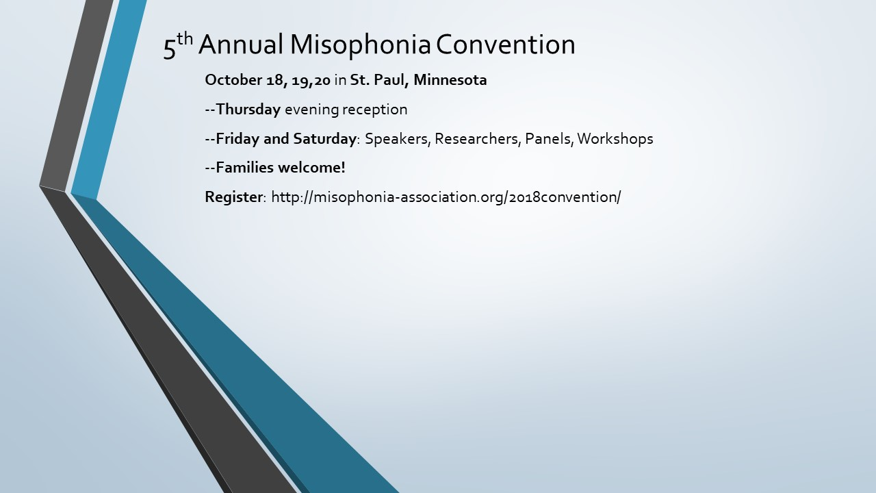 Misophonia Association
